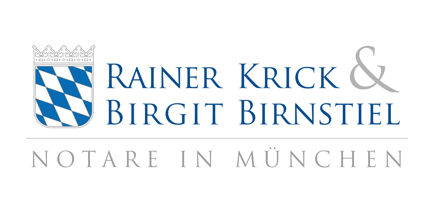art-connect Logodesign Notare in München Krick & Birnstiel